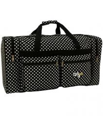 Cestovní taška RODOS 17 BLACK-DOT-  90L