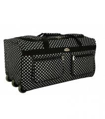 Cestovní taška na kolečkách RODOS A2 BLACK-DOT - 125L