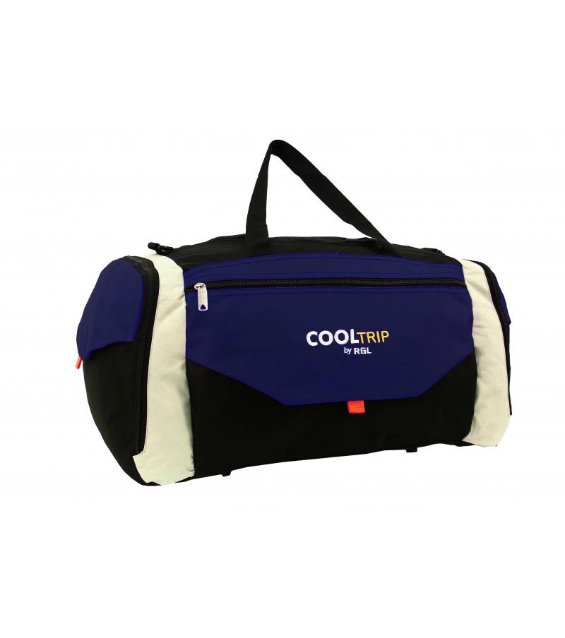 Cestovní taška RODOS 25B - černo-modrá2 106L