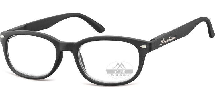 MONTANA EYEWEAR Dioptrické brýle Lihhtweight MR70 BLACK+3,50