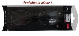 Dioptrické brýle MR76 BLACK+3,00 MONTANA EYEWEAR E-batoh