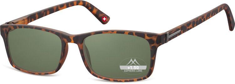 Dioptrické brýle BOX73AS BLACK+2,50 ZATMAVENÉ ČOČKY