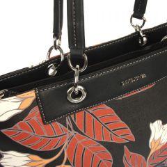 Černá dámská kabelka přes rameno David Jones CM5398 E-batoh