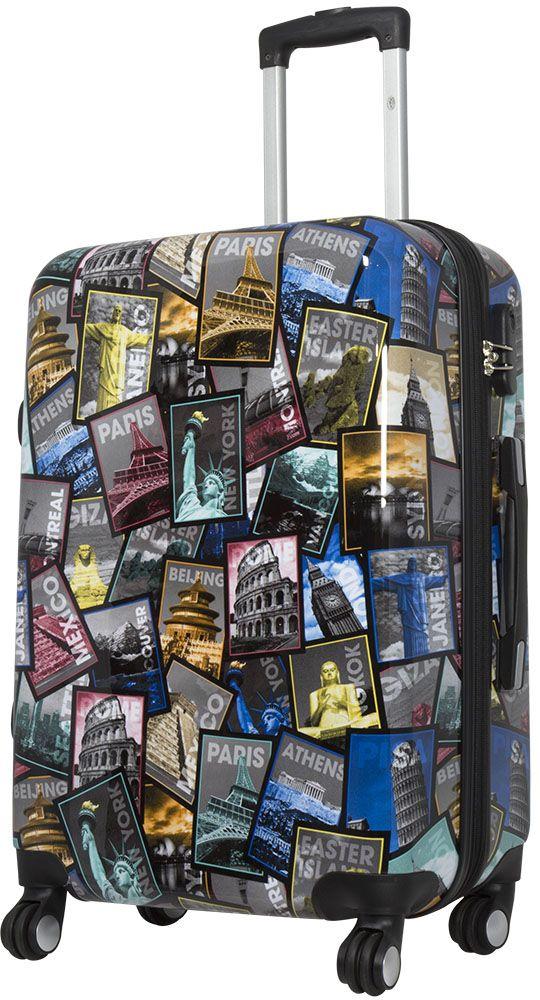 Cestovní kufr CITY III střední M