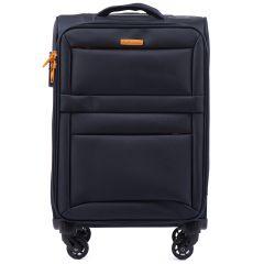 Cestovní látkový kufr WINGS 2861 BLUE malý S