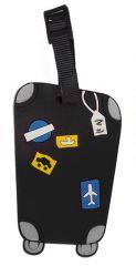 Jmenovka na kufr Koffer černá