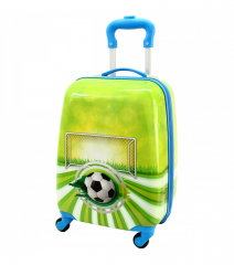 Dětský skořepinový kufřík - Football