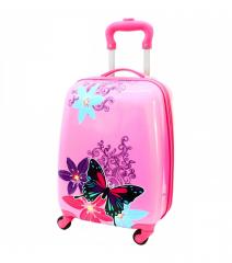 Dětský skořepinový kufřík-motýlek