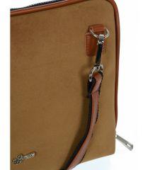 Skořicová hnědá dámská crossbody kabelka M295 GROSSO E-batoh