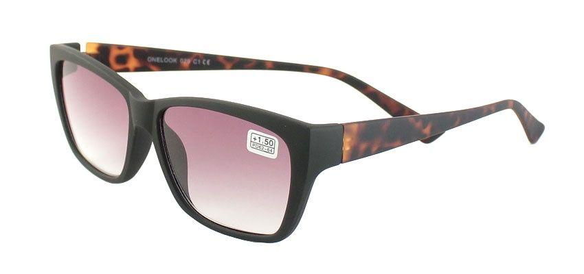 Dioptrické brýle Onelook 029 / +2,00 zatmavené