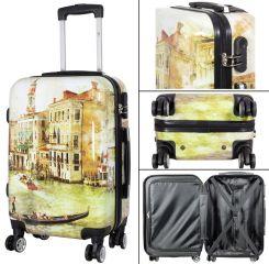 Cestovní polykarbonátový kufr VENICE střední M MONOPOL E-batoh