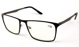 Dioptrické brýle na počítač 1847S-C5 BLACK +5,00