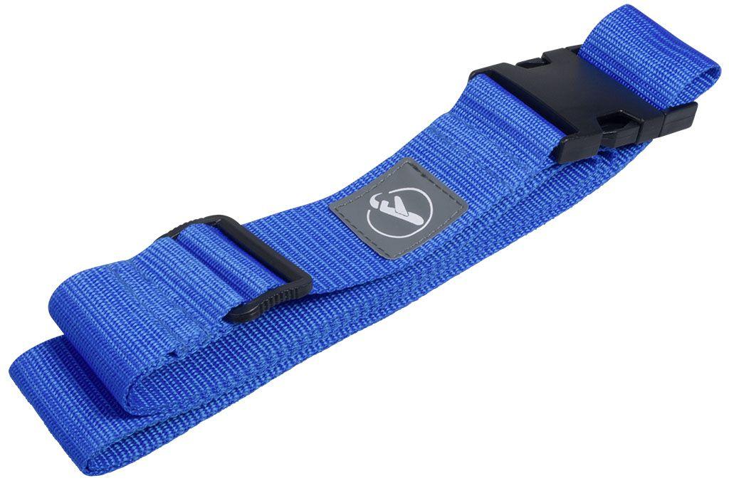 Bezpečnostní popruh na kufr Koffergurt BLUE