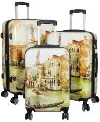 Cestovní polykarbonátové kufry sada VENICE L,M,S