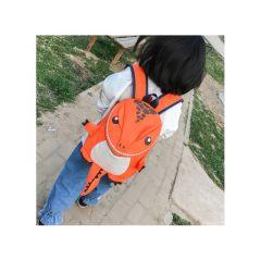 Dětský BATŮŽEK DINOSAURUS oranžový E-batoh