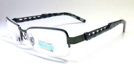 Dioptrické brýle M1.02/ +5,00 tmavě-zelené rámeček