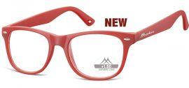 Brýle na počítač BLF BOX 67F RED bez dioptrií MONTANA EYEWEAR E-batoh