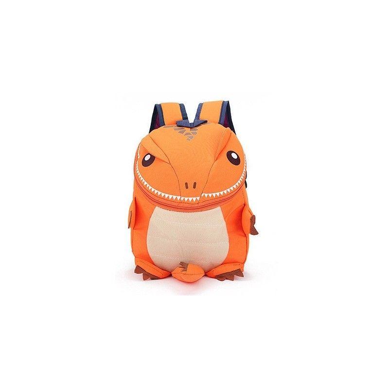 Dětský BATŮŽEK DINOSAURUS oranžový