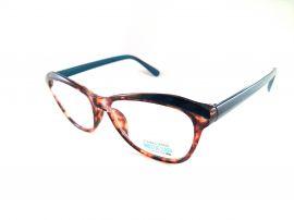 Dioptrické brýle P2.01/ +0,50 světlo-hnědý rámeček