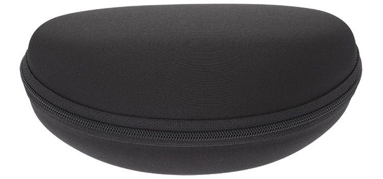 Pevné pouzdro na brýle se zipem černé E-batoh