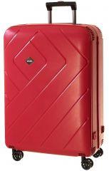 Cestovní kufr Dielle L PPL8-70-02 červená