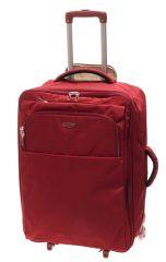 Cestovní kufr Dielle M 630-60-02 červená