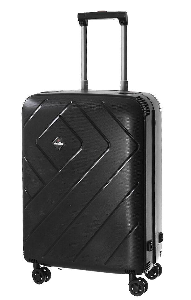 Cestovní kufr Dielle M PPL8-60-01 černá