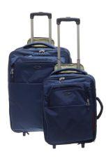 Cestovní kufry set 2ks Dielle SX,M 630-05 modrá