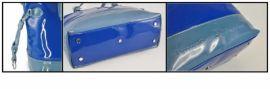 Kabelka BHPC Florida BH-140-05 modrá Beverly Hills E-batoh