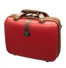 Kosmetický kufr Dielle 255-B-02 červená