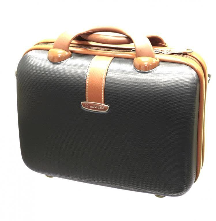 Kosmetický kufr Dielle 255-B-23 antracitová