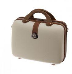 Kosmetický kufr Dielle 255-B-24 béžová