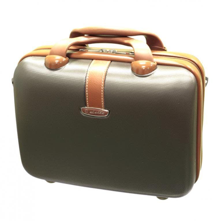 Kosmetický kufr Dielle 255-B-25 hnědá