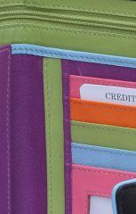 Peněženka Carraro Neon 856-NN-01 černá E-batoh