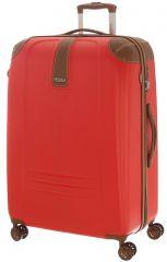 Cestovní kufr Dielle L 155-70-02 červená