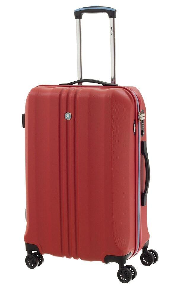Cestovní kufr Dielle M 05N-60-02 červená