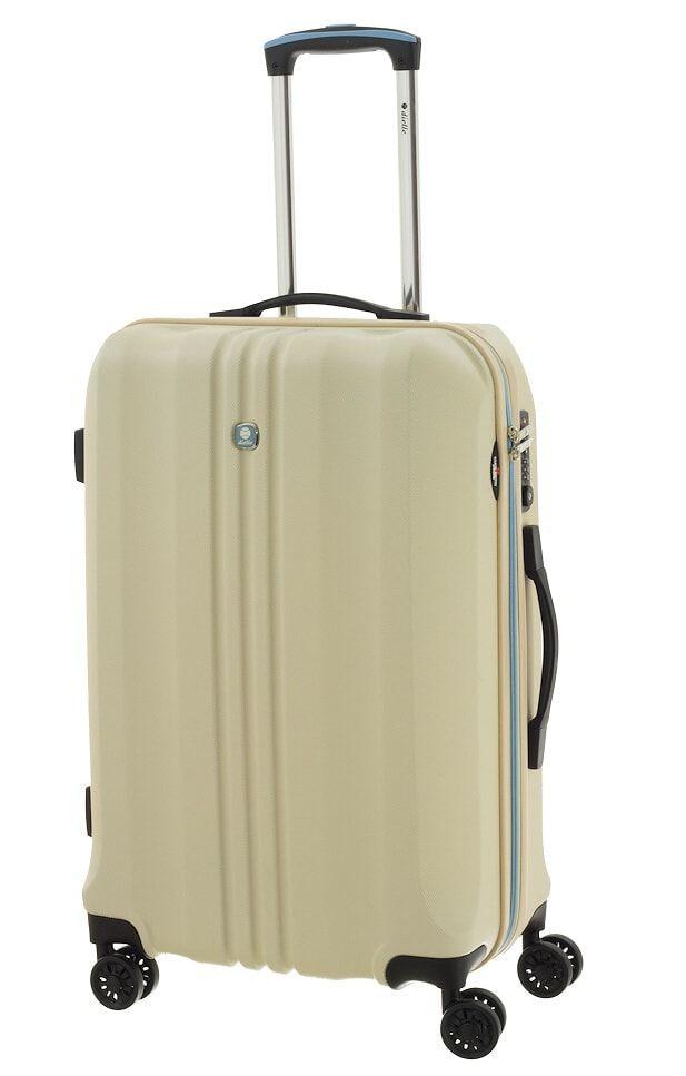 Cestovní kufr Dielle M 05N-60-24 krémová