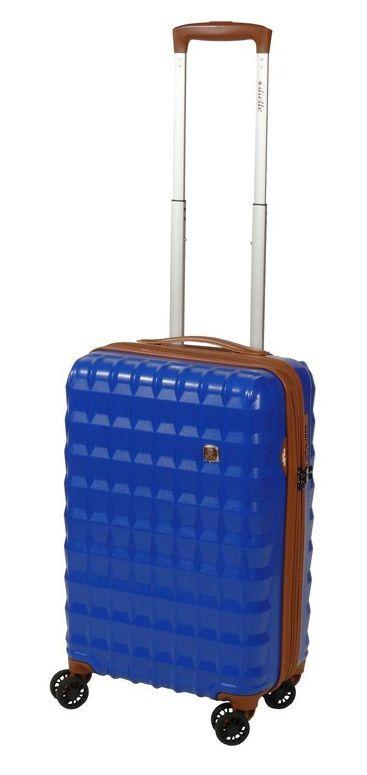 Cestovní kufr Dielle PP S 356-55-05 modrá