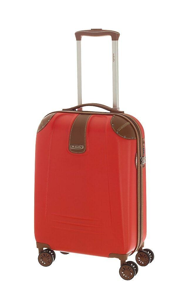 Cestovní kufr Dielle S 155-50-02 červená