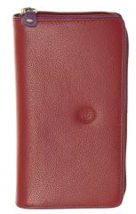 Peněženka Carraro Neon 849-NN-02 červená E-batoh