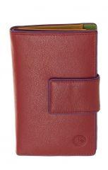 Peněženka Carraro Neon 855-NN-02 červená E-batoh