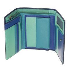 Peněženka Carraro Rainbow 572-RA-05 modrá E-batoh