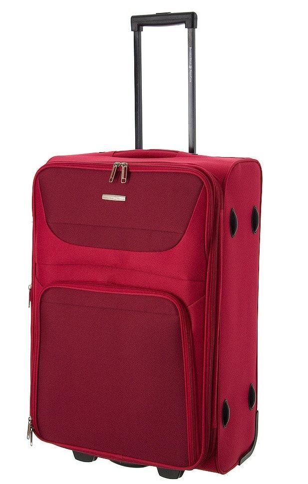 Cestovní kufr BHPC Travel 2W M BH-237-63-02 červená