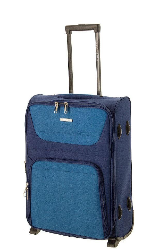 Cestovní kufr BHPC Travel 2W S BH-237-55-05 modrá