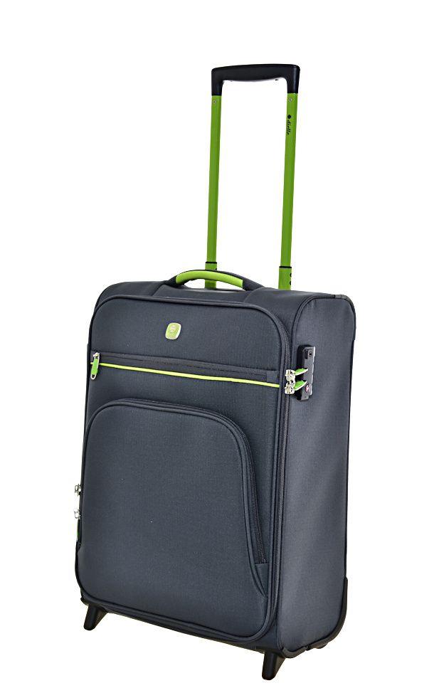 Cestovní kufr Dielle 2W S 10-50-23 antracitová