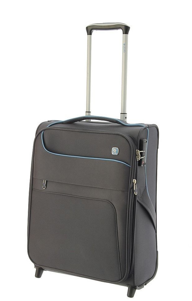 Cestovní kufr Dielle 2W S 610-55-23 antracitová