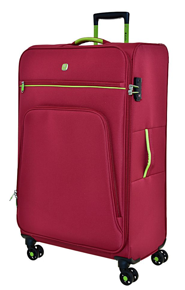 Cestovní kufr Dielle 4W L 10-70-02 červená