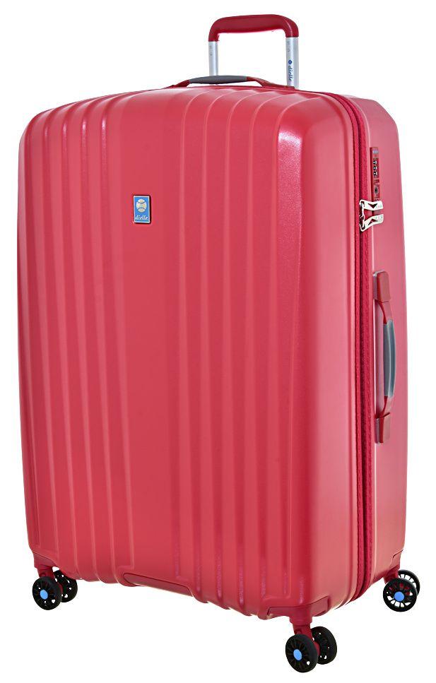Cestovní kufr Dielle 4W L 120-70-02 červená