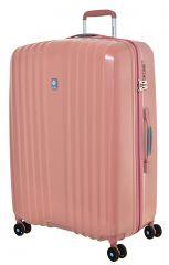 Cestovní kufr Dielle 4W L 120-70-30 růžová
