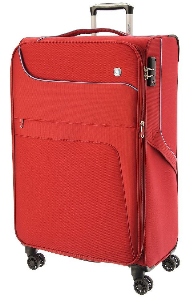 Cestovní kufr Dielle 4W L 610-70-02 červená